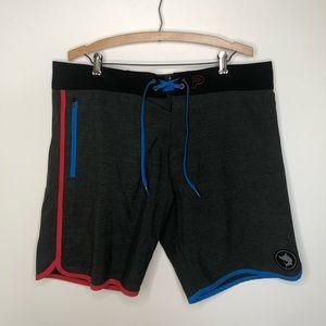 Pelagic Wedge Limited Board Shorts Swim Size 38